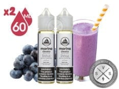 Blueberry Milkshake Man - Marina Vape 120ml