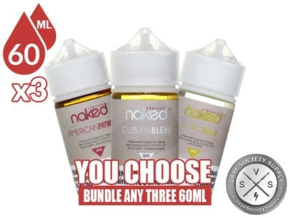 Naked 100 Tobacco Bundle 60ml x3 180ml