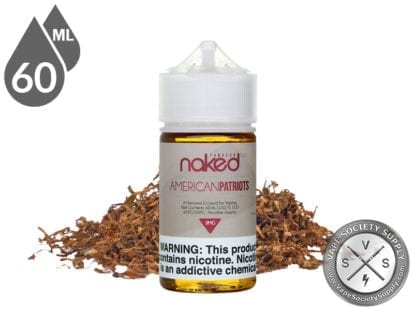 Naked 100 Tobacco 60ml American Patriots