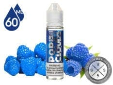 Pop Clouds Blue Razz 60ml