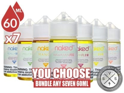 Naked 100 Bundle 60ml x7