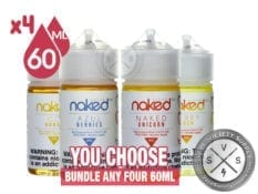 Naked 100 Cream Bundle 240ml