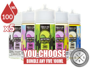 Air Factory TFN Bundle 100ml x5
