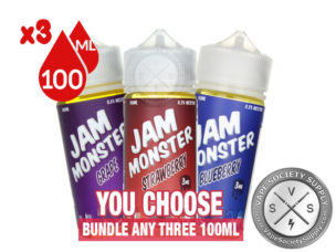 Jam Monster Ejuice Bundle (300ml)