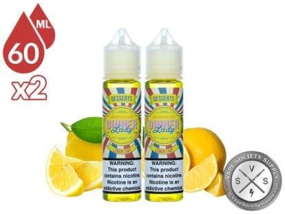 Lemon Tart by Dinner Lady 120ml (2x60ml)
