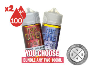 The One Bundle by Beard Vape Co 2x100ml (200ml)