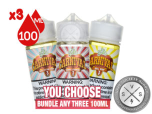 Carnival Juice Roll Upz Bundle 3x100ml
