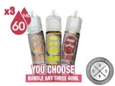 Beard Vape Co Bundle 180ml (3x60ml)
