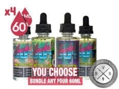 Geeked Out Ejuice Bundle 240ml
