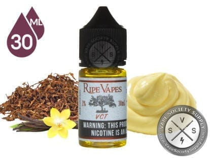 Ripe Vapes Handcrafted Saltz VCT 30ml Ejuice