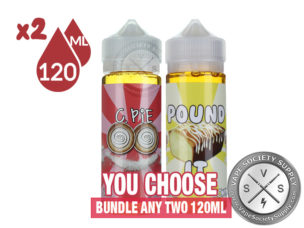 240ml Ejuice Bundle by Food Fighter Ejuice