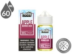Reds Apple Iced 60ml Berries Iced ejuice