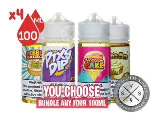 Vaper Treats Eliquid Bundle 400ml (4x100ml)