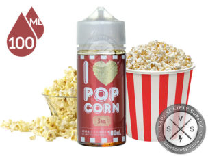I love Popcorn by mad Hatter 100ml