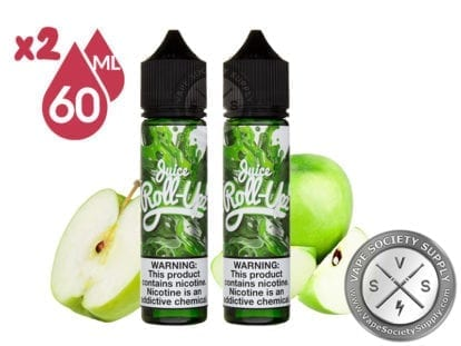 Juice Roll Upz Green Apple 2x60ml