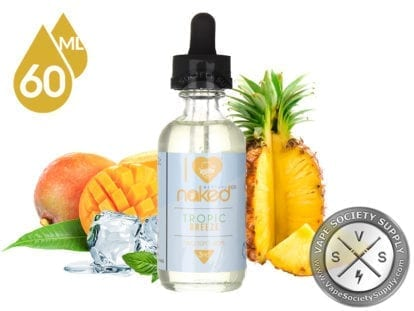 I Love Naked 100 Tropic Breeze 60ml Eliquid