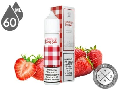 Fresh Farms 60ml Strawberry Farm Cake