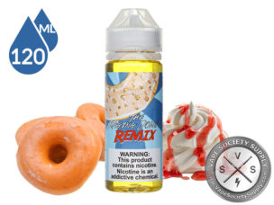 Food Fighter The Raging Donut Remix 120ml Eliquid