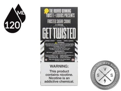 Twist Frosted Sugar Cookie 120ml Eliquid