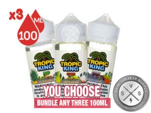 Tropic King E-Juice Bundle 300ml (3x100ml)