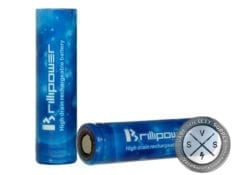 Brillipower 18650 Blue 3.7V 3100mAh 50A Batteries