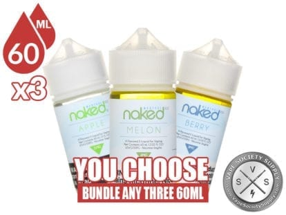 Naked 100 Menthol Bundle 60ml x3 180ml