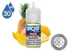 Tropical by Pop Clouds Salt E-Liquid 30ml