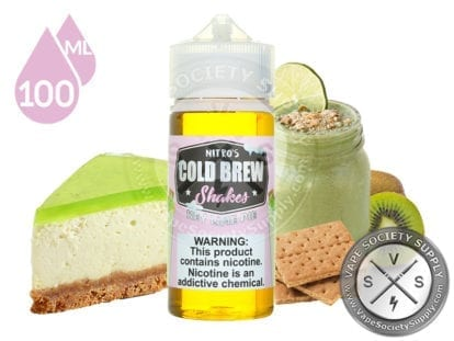 Key Lime Pie by Nitro's Cold Brew Shakes 100ml