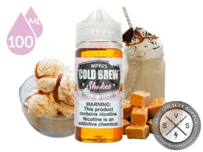 Salted Caramel by Nitro's Cold Brew Shakes 100ml