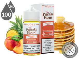 The Pancake House 100ml Pineapple Peach