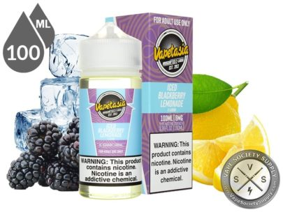 Iced Vapetasia 100ml Blackberry Lemonade E-Liquids