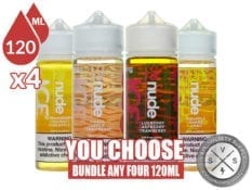 Nude Ice Bundle 480ml (4x120ml)