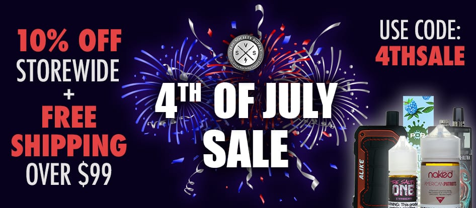 4th of july ejuice sale