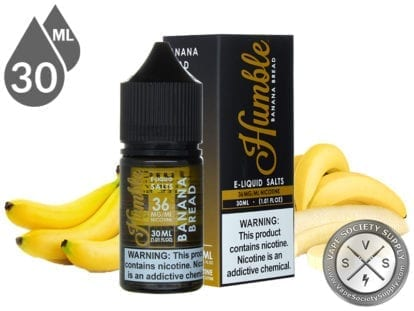 Humble Salts 30ml Banana Bread