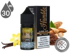 Humble Salts 30ml Vanilla Almond Tobacco